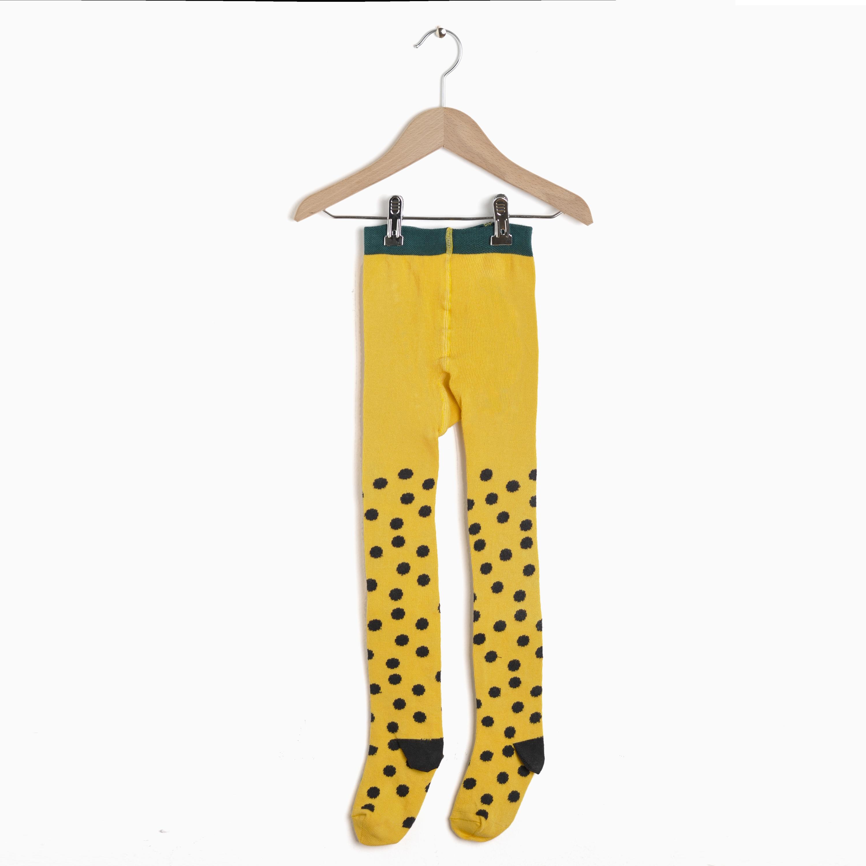 08571570e0d8d Nadadelazos – Tights Minidots – Banana Yellow | Miomeraki